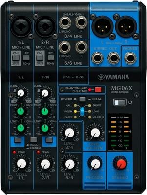 Yamaha ProAudio MG06X ANALOG MIXER