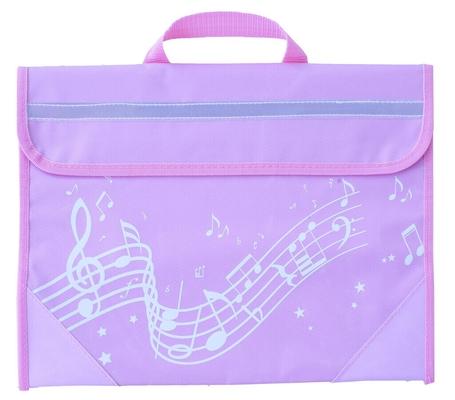 Taschen Musicwear Wavy Stave Music Bag – Pink