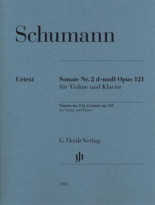Henle Urtext Editions / Sonate n2 pour violon et piano en ré mineur op. 121Violin Sonata No.2 In D Minor Op.121Sonata no.2 in d minor op.121 for Violin and Piano / Robert Schumann / Henle