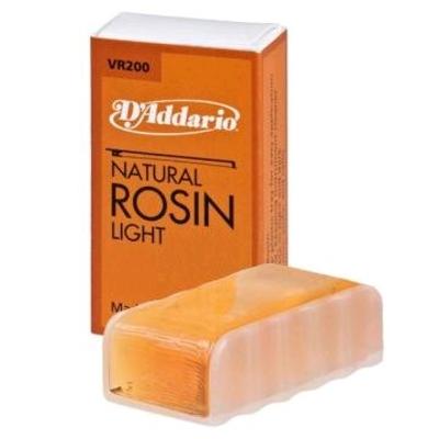 D'Addario Colophane pour Violon / Natural Rosin Light