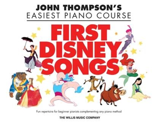 John Thompson's Easiest Piano Course: First Disney Songs /  / Willis Music