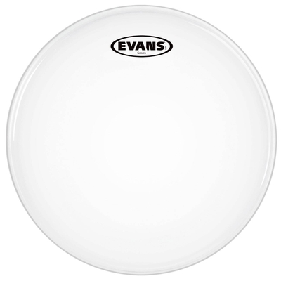 Evans B12GEN Genera snare batter with muffle ring single ply coated white 12»
