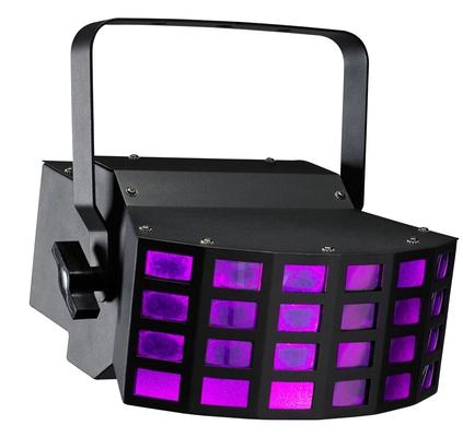 Contest LED-BEAMER Effet danimation multi-faisceaux équipé de 2 LEDs 9W tricolores