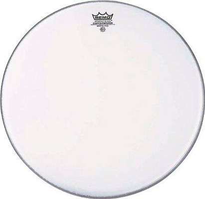 Remo BE-0115-00 Emperor Coated Blanche 15» Double plis