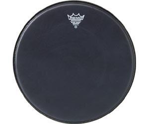 Remo BE-0818-ES Emperor Black Suede 18» Double pli : photo 1
