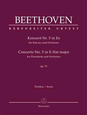 Concerto for Pianoforte and Orchestra no. 5 E-flat major op. 73 Emperor / Ludwig van Beethoven / Bärenreiter
