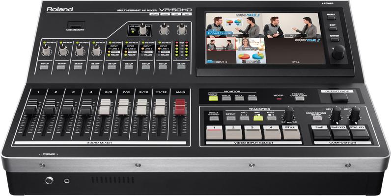 Roland VR-50HD Multi Formant AV Mixer