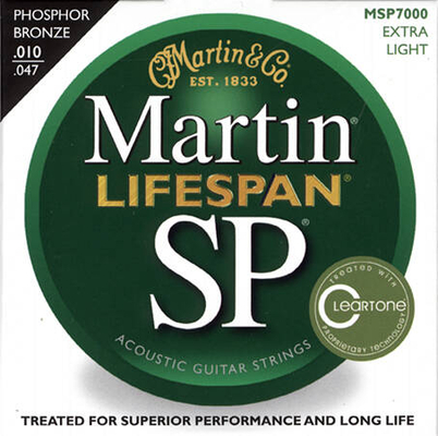 Martin & Co MSP7000 Lifespan Phosphor Bronze Extra Light