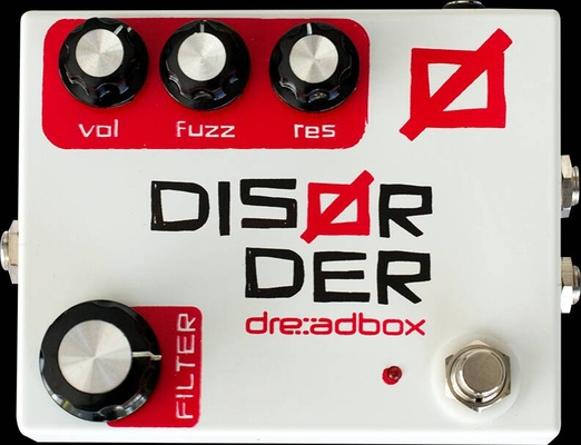Dreadbox Disorder Fuzz-Drive with VC Filter