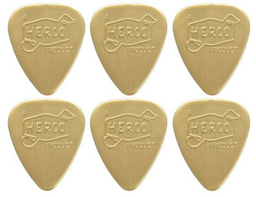 Herco HEV210P Herco Vintage '66 Nylon, Pack de 6, Light Bold Gold