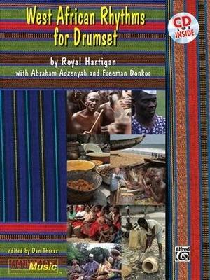 West African Rythmus For Drums + CD / Royal Hartigan / SchettMusic