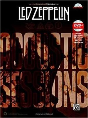 Led Zeppelin Acoustique Guitare Session /  / Alfred Publishing
