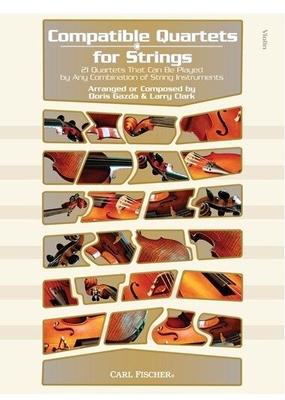 Compatible Quartets Strings Violin /  / Carl Fischer