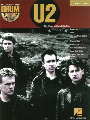 Drum Play-Along Volume 34: U2 (Book/CD) /  / Hal Leonard