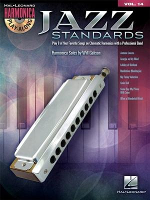 HPA VOL 14 Jazz Standards Harmonica /  / Hal Leonard