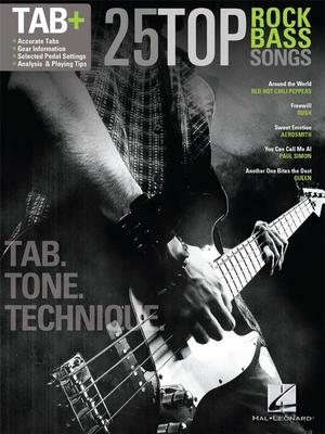 25 TOP Rock Bass Songs BGTR Tab /  / Hal Leonard