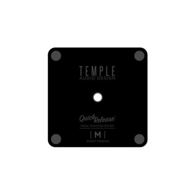 TEMPLE Audio Design Medium Pedal Plate Quick Release