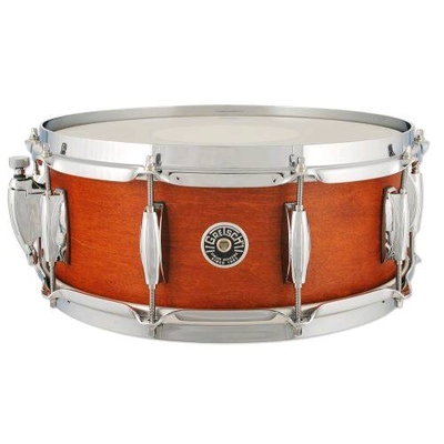 Gretsch Drums GB-55141S-SM Brooklyn Series 5,5×14» Mahogany Stain Satin Lacquer