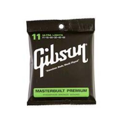Gibson Masterbuilt Strings 011052 Phosphor Bronze Wound