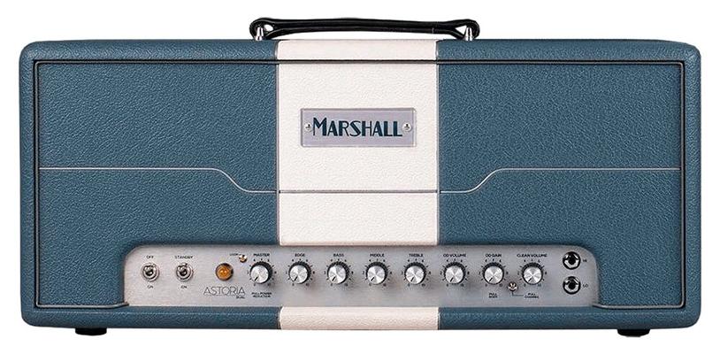 Marshall Astoria Serie DUAL, Blue & Cream Custom Design Head