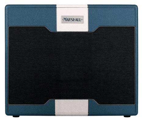 Marshall Astoria Serie DUAL, Blue & Cream Custom Design Cab
