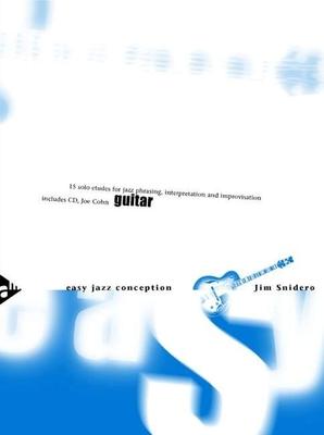 Easy Jazz Conception Guitar / Jim Snidero / Advance Music