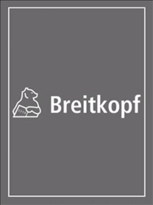Bach Konzert BWV 1065 pour 4 clavecins partition 2ème Clavecin / Johann Sebastian Bach / Breitkopf