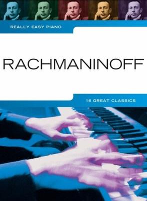 Really Easy Piano: Rachmaninoff / Sergei Rachmaninov / Hal Leonard