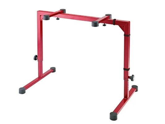 K & M 188/10/ROT Table-style keyboard stand »Omega»