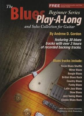 Gordon Blues Play-a-long Guitar Book /  / ADG Productions