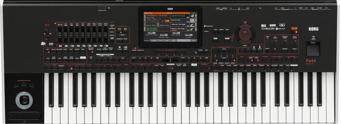 Korg PA4X61-INT Music-Workstation 61 International
