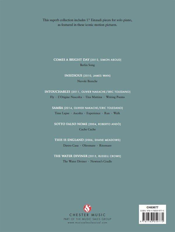 Ludovico Einaudi: Film Music 17 pieces for solo piano / Ludovico Einaudi / Chester Music : photo 3