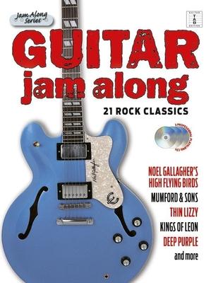 Guitar Jam Along: 21 Rock Classics (Book/3CD) /  / Hal Leonard