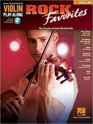 Violon Play-Along Vol 49 Rock Favorites /  / Hal Leonard