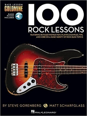 Bass Lesson Goldmine Series 100 Rock Lessons /  / Hal Leonard