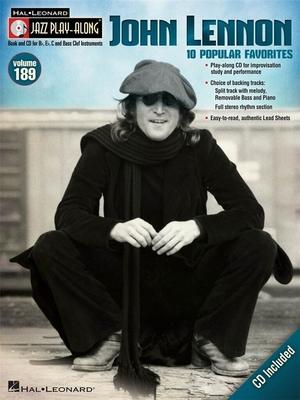 Jazz Play Along / John Lennon, Jazz Play-Along Volume 189 / John Lennon / Hal Leonard