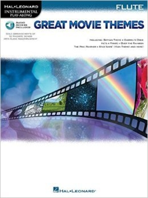 Instrumental Play-Along Great Movie Themes for flute /  / Hal Leonard