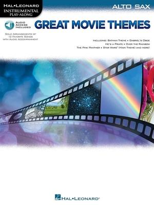 Instrumental Play-Along Great Movie Themes for Alto Sax /  / Hal Leonard
