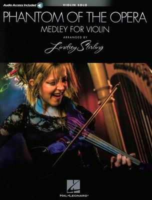 The Phantom of the Opera Violin with Original Audio Backing Tracks / Lindsey Stirling / Hal Leonard