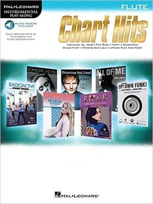 Instrumental Play-Along Chart Hits Flute /  / Hal Leonard