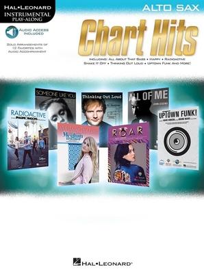 Instrumental Play-Along Chart Hits Alto Sax /  / Hal Leonard