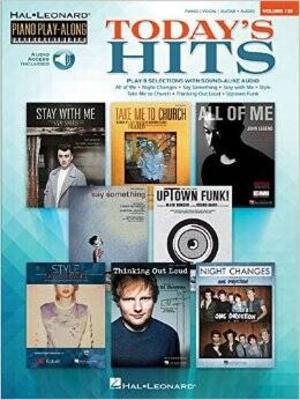 Piano Play-Along Volume 132 Today's Hits /  / Hal Leonard