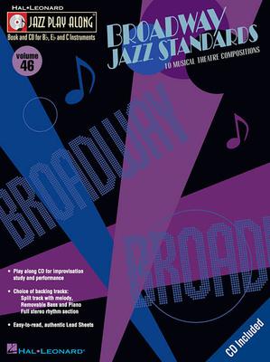 Jazz Play-Along Volume 46 Broadway Jazz Standards /  / Hal Leonard