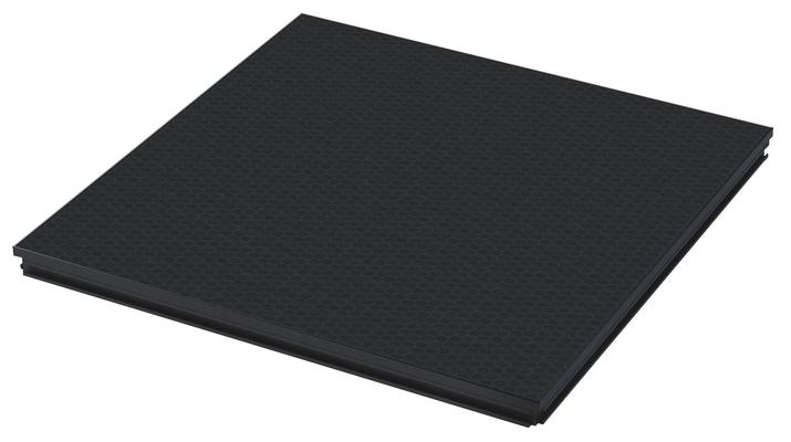 Contest PLTL-1×1 Plateforme mobile 1x1m-500 Kg/m2-noire
