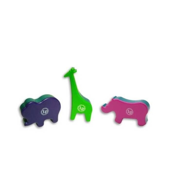 Latin Percussion Plastic Animal Shakers