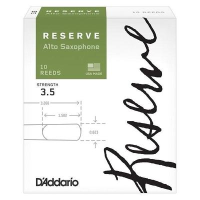 D'Addario DJR1035 Woodwinds Reserve, Sax alto, #3.5, boîte de 10