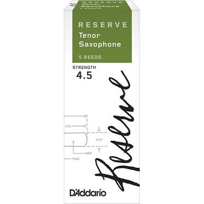 Rico Reserve DKR0545 D'Addario Reserve, Sax Ténor, #4.5, boîte de 5