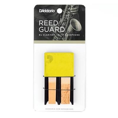 Rico Reserve DRGRD4ACYL Etui pour 4 anches, pour Clarinette et Sax alto, pièce – jaune