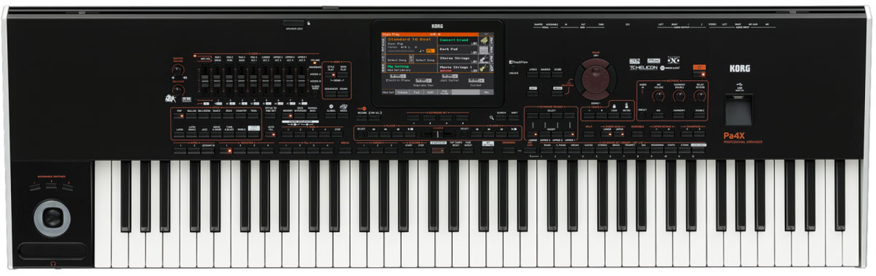Korg PA4X76-INT Music-Workstation 76 International