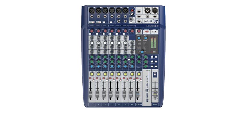 Soundcraft SIGNATURE10 10+2/2 Live-/Rec Desk, USB